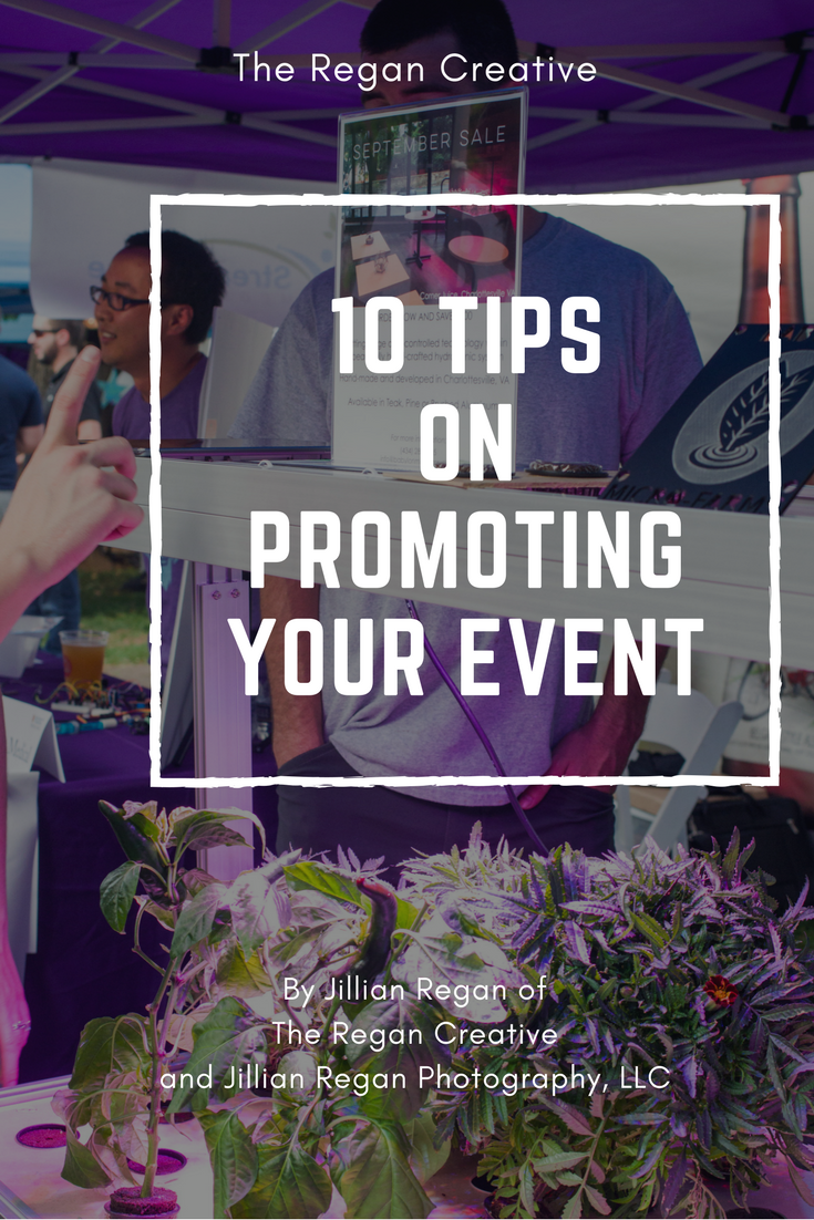 10 Tips On Promoting Your Event