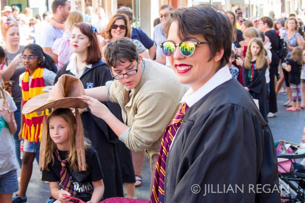 Sorting Hat at Harry Potter Festival Staunton