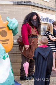 Hagrid at Harry Potter Festival Staunton