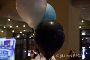 Balloons at Hickory High School Reunion