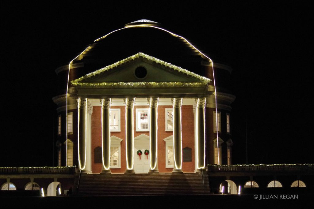 branding business blogging illumination holiday lights charlottesville uva virginia university
