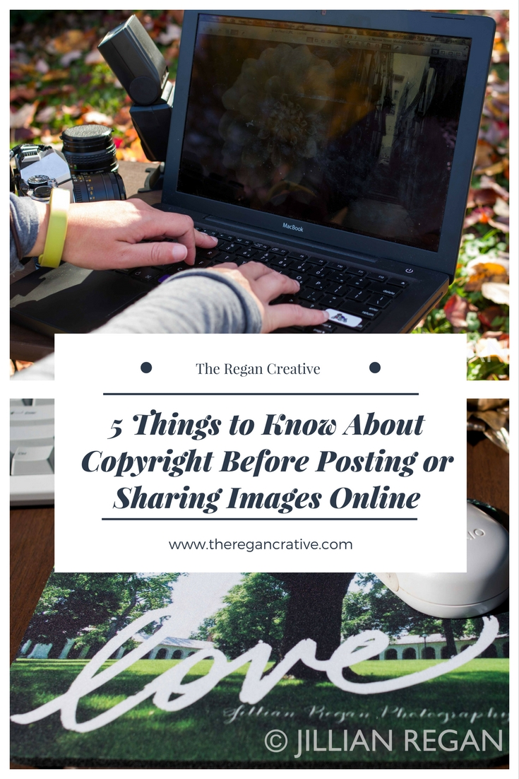 copyright posting images online learning starting business to know