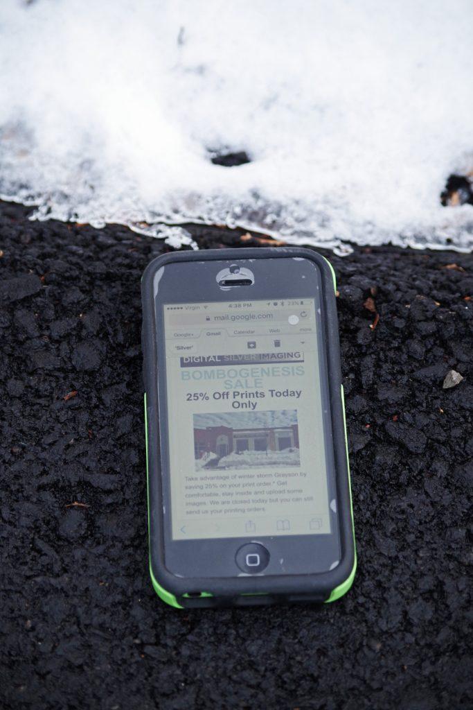 marketing branding business ideas winter snow January snowstorm