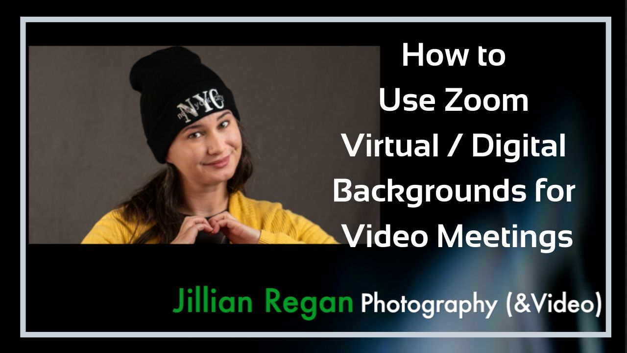 zoom video meeting virtual digital background